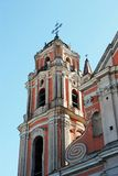All Saints Church in Vilnius town, capital of Lithuania. Stock Images