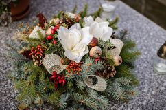 All Saints Day decoration Stock Image