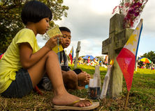 All saints day in Philippines Royalty Free Stock Photography