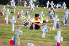 All saints day in Philippines Stock Photography