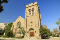 All Saints Episcopal Church at the morning Stock Photography