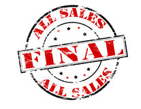All sales final Stock Photography