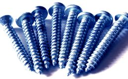 All screws. Screws are the true testament to construction and everything having a bond. not just for practical purposes, this image could very well portray a Royalty Free Stock Images