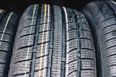 All season car tires Royalty Free Stock Photography