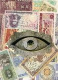 All-seeing eye Royalty Free Stock Photography