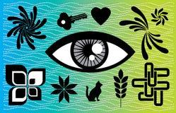 All seeing eye Stock Image