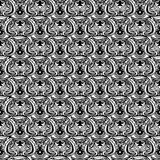 All seeing eye seamless pattern. Hand drawn vintage style backgr Stock Photography