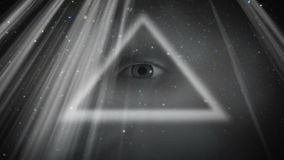 All  Seeing Eye Royalty Free Stock Photo