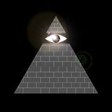All-seeing eye symbol Royalty Free Stock Image