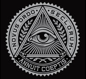 All Seeing Eye Vector Stock Images