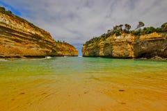 The Australian coast. Stock Image