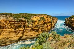 The Australian coast. Stock Images