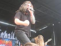All Shall Perish Heavy Metal Concert Stock Photography