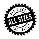 All Sizes rubber stamp Royalty Free Stock Photography