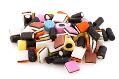 All sort licorice stock photos