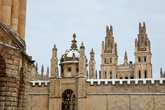 All Souls College 1438 Royalty Free Stock Image