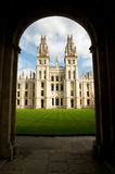 All Souls College Royalty Free Stock Image