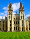 All souls college. In Oxford, England Stock Photography
