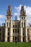 All souls college Oxford. All souls college part of Oxford university Royalty Free Stock Image