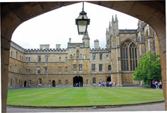 All Souls College, Oxford, England. One of the wealthiest colleges of Oxford. Founded in 1438 by King Henry VI and Archbishop of Canterbury, Henry Chichele Stock Image