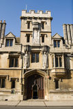 All Souls College, Oxford Gate Tower Royalty Free Stock Photos
