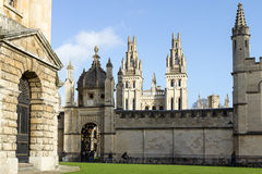All Souls College Oxford. Uk Stock Images