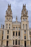 All Souls College at Oxford University. England Stock Photos