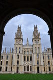All Souls College at Oxford University. England Stock Images