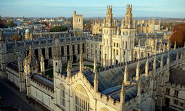 All Souls College. Oxford University, Oxford Royalty Free Stock Photo