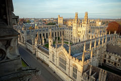 All Souls College. Oxford University, Oxford Royalty Free Stock Photos