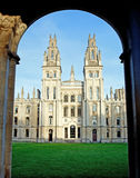 All Souls College. Oxford University, Oxford, UK Royalty Free Stock Photos