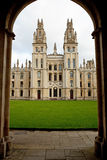 All Souls College. Oxford University, Oxford, UK Royalty Free Stock Image