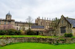 All Souls College, Oxfordshire, United Kingdom, Europe. Streets of Oxford - landmark, England - overview from a church`s tower with the Bodleian Libraryand All stock photos