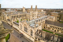 All Souls College at the university of Oxford. Oxford, England Royalty Free Stock Image
