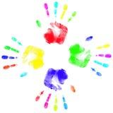 All spectrum of shades vector illustration