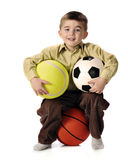 All-Sport Boy Royalty Free Stock Photos