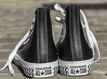 All Star Converse Sneakers Stock Image
