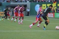 ALL-STAR- Match MLS Lizenzfreies Stockbild