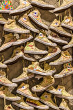 All star shoes art Stock Images