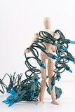 All Tangled Up Stock Image