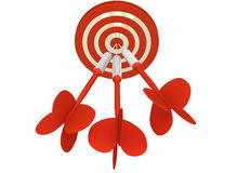 All on Target Stock Photography