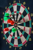 All in target darts game Stock Photography