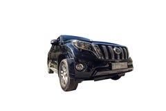 All terrain car. Modern Japanese SUV to travel to difficult terrain stock photos