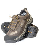 All terrain cross training hiking lightweight shoe. S Stock Photo