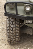All Terrain Tire. Off-road vehicle Royalty Free Stock Image