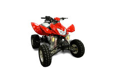 All terrain vehicle. The all terrain vehicle  with a white background Stock Photos