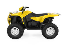 All-Terrain Vehicle Isolated Royalty Free Stock Photo