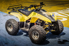 All Terrain Vehicle On Race Track Royalty Free Stock Image