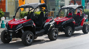 All-terrain vehicle. Royalty Free Stock Photos