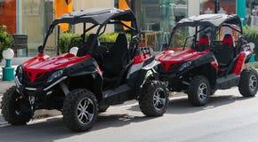 All-terrain vehicle. Royalty Free Stock Photos